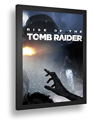 Quadro Decorativo Poste Rise Of The Tomb Raider Classico