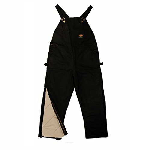 Rasco FR HEAVY Black INSULATED Winter Bib Overalls - Flame Resistant BLHB2427	Size: 40W x 30L