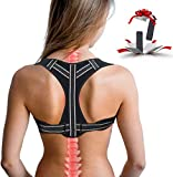 Hayan Posture Corrector for Women, Adjustable Upper Back Posture Corrector for Men, Comfortable