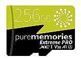 purememories Extreme Pro 2020 256GB Scheda di Memoria Micro SDXC App Performance A1, U3 100 MB/Sec...