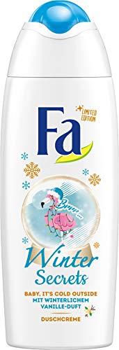 Fa Duschgel Winter Secrets mit winterlichem Vanille-Duft, 250 ml