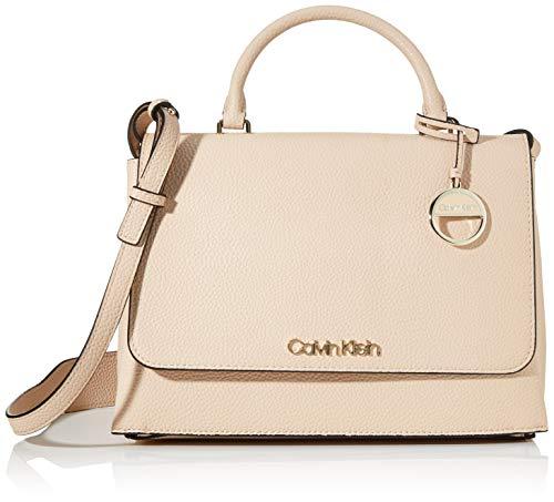 Calvin Klein Damen Sided Top Handle Tornistertasche Pink (Light Sand)