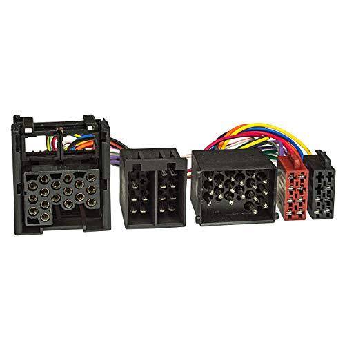tomzz Audio 7304-000 T-Kabel ISO passend für BMW Rover mit Rundpin zur Einspeisung von Freisprecheinrichtung ISO Verstärker für THB Parrot Dabendorf i-sotec Match