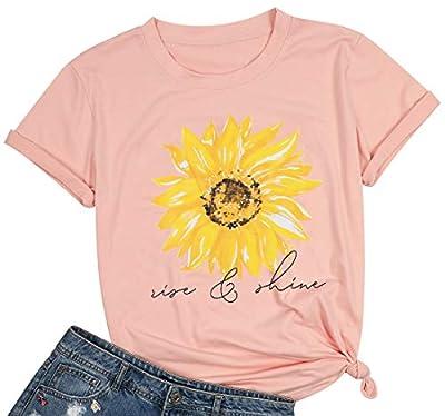 JINTING Women I Run on Caffeine Chaos Cuss Words Letters Printed Short Sleeve T-shirt
