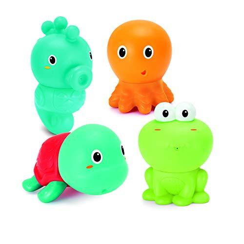 Infantino Sensory Badespaß, Wasserspielzeug, mehrfarbig