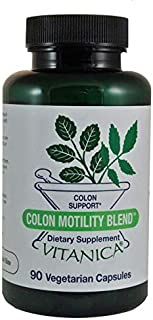 Vitanica, Colon Motility Blend, Colon Support, Vegan, 90 Capsules