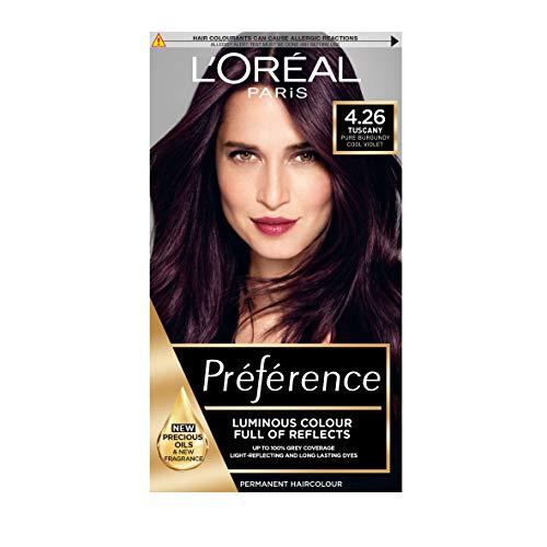 Preference Infinia, tintura per capelli 4.26 Pure Burgundy