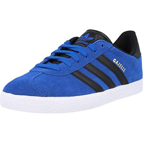 adidas Originals Gazelle J Azul/Negro (Blue/Core Black) Cuero 36 EU