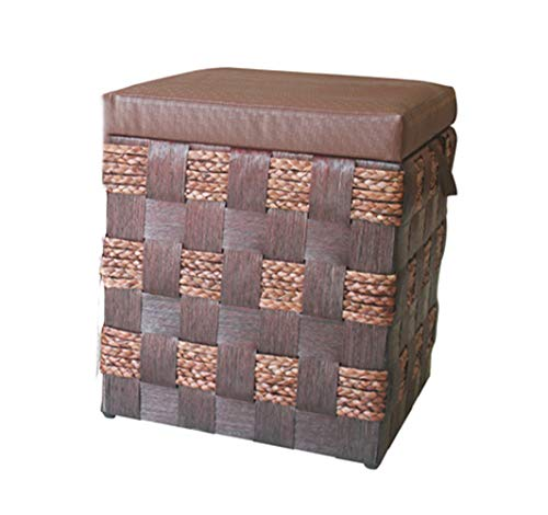 Opbergboxen Ottomaanse Volwassenen Voetenbank Rust Eenvoudige Comfortabele Voetenstoelen & Poefes Multifunctionele Krukken Stoel Voor Woonkamer Slaapkamer