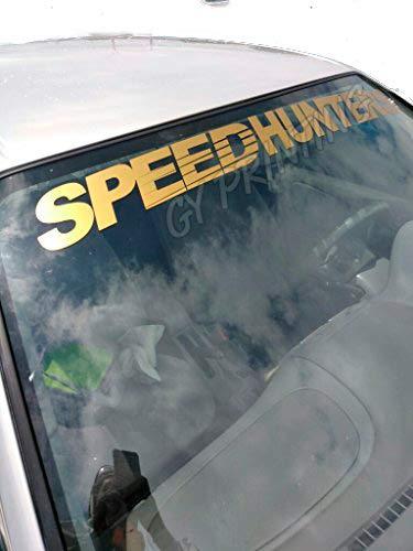 GY Vinyl Arts,Speedhunters,Windshield,Sun Visor,Decal,Car,Sticker,Banner,Graphics,Universal Fitment
