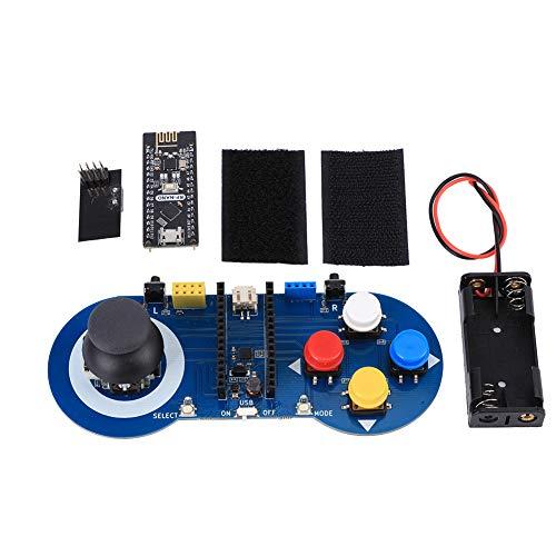 Mango de robot de 2,4G de larga vida útil, control de mango de robot, dispositivo de control remoto Robot Robot Cars para entusiastas del bricolaje