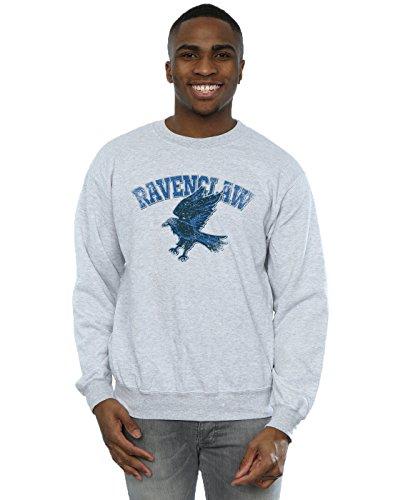 Harry Potter Herren Ravenclaw Sport Emblem Sweatshirt XXX-Large Sport Grey