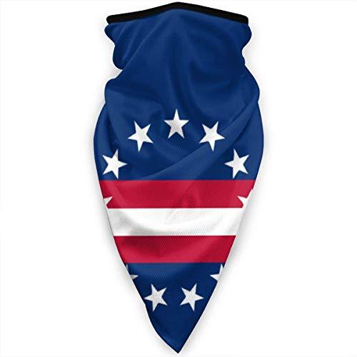 Nother Flagge von Cape Verde Hals Gaiter Warmer Winddicht Gesichtsmaske Schal Outdoor Maskhead Schal