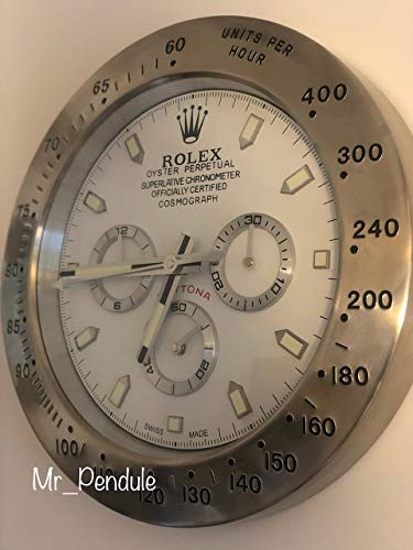Rolex Orologio da Parete Daytona Orologio Luminoso