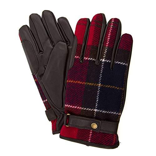 Barbour BAACC1398 RE35 Handschuhe Mann Braun/Rot XL