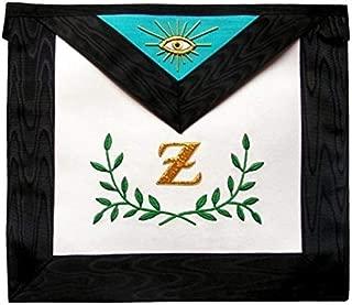 Bricks Masons Masonic Scottish Rite Masonic Apron - AASR - 4th Degree - Sprig of Acacia-Lambkin