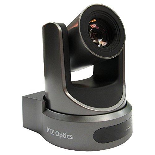 PTZOptics Newtek Live Streaming RTSP RTMP - Cámaras de conferencias (20 unidades, NDI), color gris