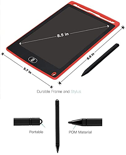 SUPER TOY LCD Writing Tablet 8.5Inch E-Note Pad 6