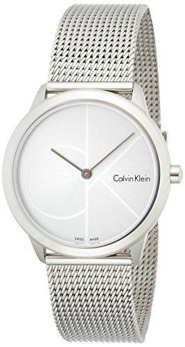 Calvin Klein Reloj Analogico para Mujer de Cuarzo con Correa en Acero Inoxidable K3M2212Z