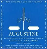 AUGUSTINE BLUE 4弦バラ弦単品×6本 クラシックギター弦 4弦のみのバラ弦です。