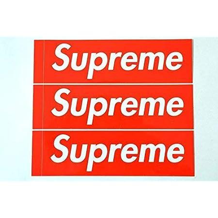 3枚セット 定番 SUPREME(シュプリーム) ステッカー ボックスロゴ box logo sticker