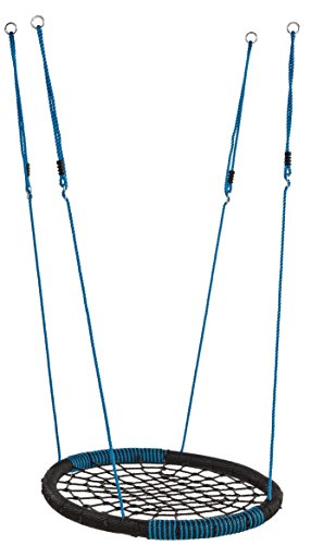 Balancoire Nid Ovale Bleu