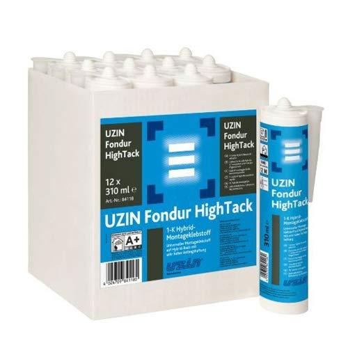 UZIN Fondur HighTack 1-K Hybrid-Montageklebstoff 310ml