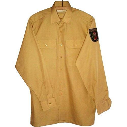 Polizei Hemd langarm NEU Polizeihemd Uniform Police Bambusgrün Gr. 42