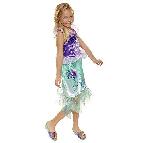 Disney Princess Disney Press 04313 Ariel Explore Your World Dress, Purple/Torquoise