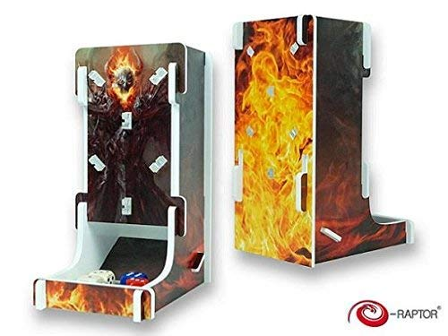 e-Raptor ERA93628 Kartenspiel Dice Tower-Steam Punk Box