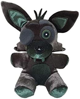 FAVOTOY Plush Toys Five Nights at Freddy's Sister Location Freddy Bear Bonnie Foxy Baby Ballora Clown Plush Stuffed Toys Doll Collectible Gift for Kids Children Birthday-1Pcs (Phantom Foxy)
