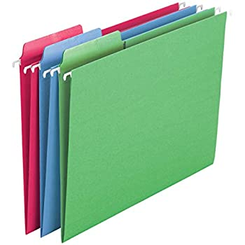 hanging folders with tabs
