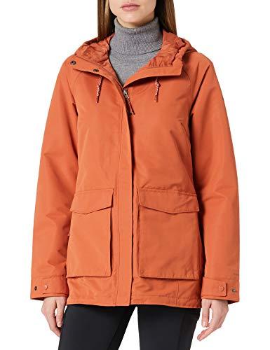 Columbia Sherpa-Jacke für Damen, South Canyon, Orange (Teak Brown), L, 1886724