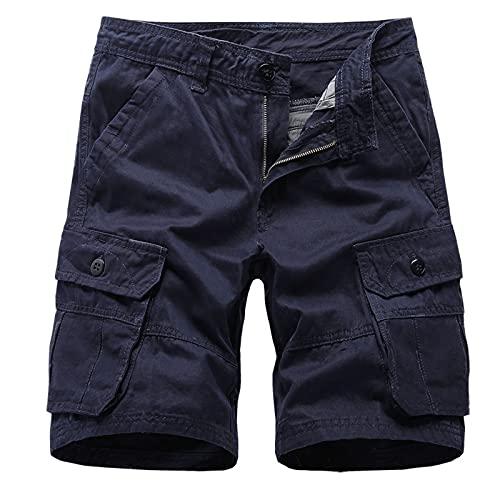 Zonary Herren Vintage Cargo Shorts Kurze...