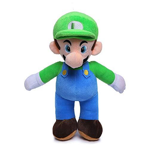 2 Stück 25cm Super Mario Bros Ständer LUIGI /& MARIO Plüsch-Puppe Stofftier hot