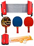 Softee Equipment Super Set Ping Pong Rojo/Naranja - Rojo