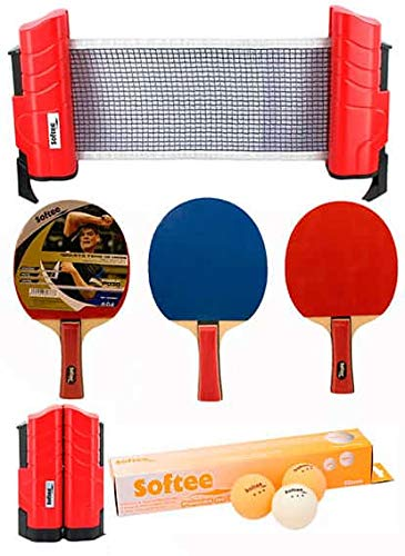 Softee Equipment Super Set Ping Pong Rojo/Naranja - Rojo