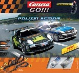 Carrera GO!!! Polizei Action 62344 by Carrera USA