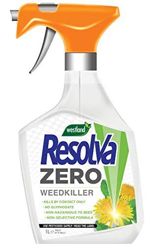 Resolva 20300355 Zero (Non-Glyphosate) Weedkiller Ready To Use, 1L