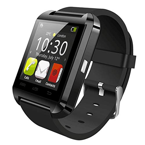 Blesiya U8 Sport Smart Watch Männer Smartwatch Bluetooth Sport Smart Watch Tragbares Gerät - Schwarz