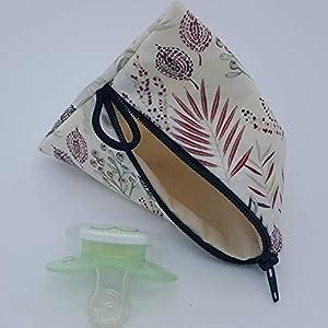 Aufbewahrung Schnuller-Tasche XL für 2-4 Nuckel Dschungel