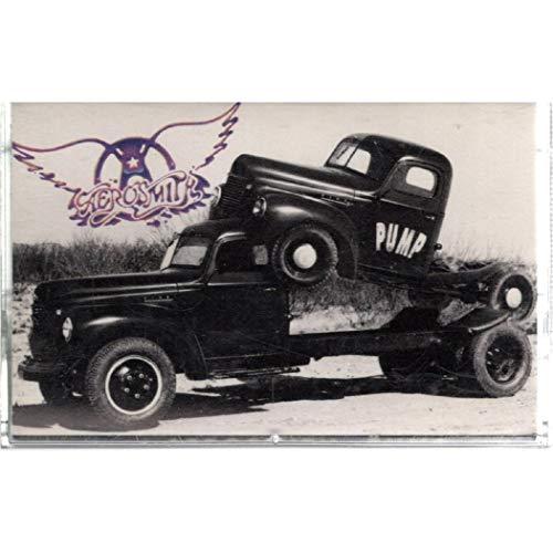 Aerosmith: Pump Cassette VG++ Canada Geffen M5 24254