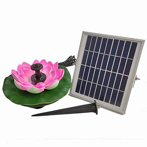 YANDN 3W Bomba De Fuente Solar Flor De Loto Fuente Solar En...