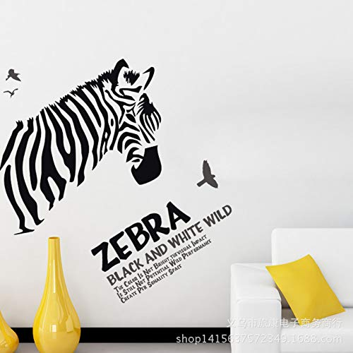 marca blanca pvc wall stickers black and white removable wall stickers bedroom cartoon background decoration stickers