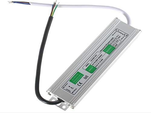 50W impermeabilizan la fuente de alimentación del transformador del conductor de IP67 LED AC110V-260V a DC12V ILFYJRHD (Size : 157mmx44mmx33mm)
