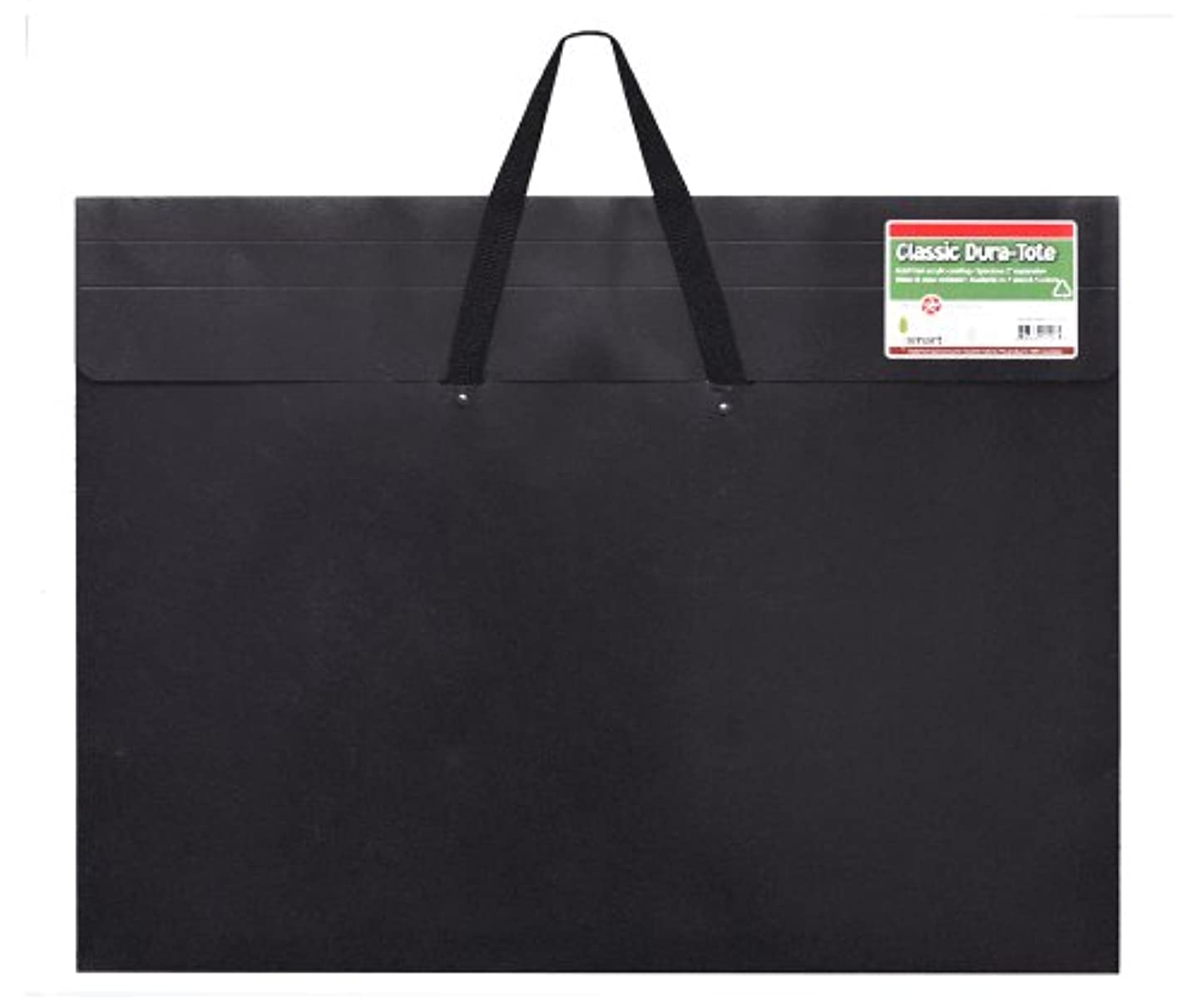 Star Products Classic Dura-Tote Portfolio 17-Inch by 22-Inch, Black with Reclosable Fastener