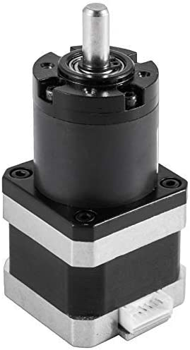 wholesale Mophorn Nema 17 Geared sale Stepper Motor discount 48mm Body 14:1 Planetary Gearbox Low Speed High Torque 3.1V 1.3A 55N.cm for DIY 3D Printer Extruder CNC Milling Engraving Machine online