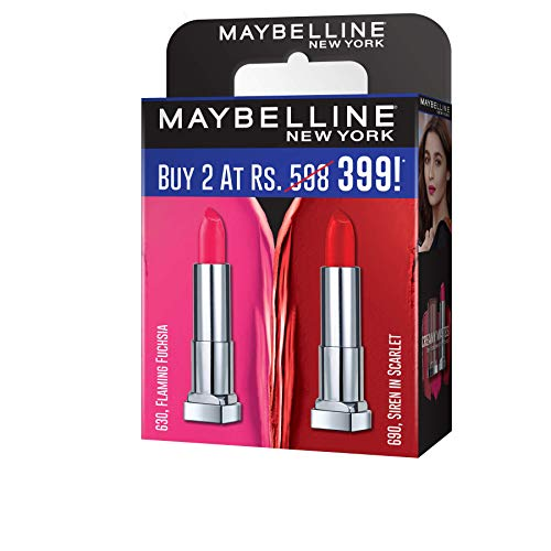 Maybelline Creamy Matte Nude Nuance & Touch of Spice (Pack of 2)