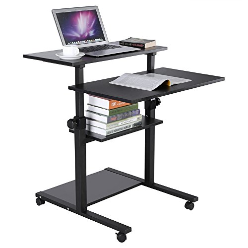 Muebles Mesa de Ordenador, Computadora extraíble Escritorio Mesa ...