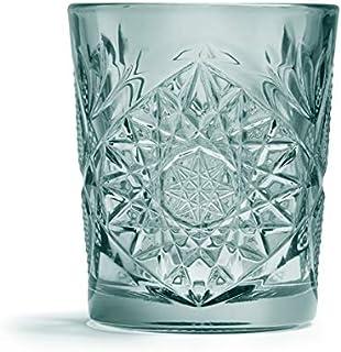 Libbey - Hobstar - Whiskyglas, Glas - Farbe: Grün - 355 ml - 1 Stück - Spülmaschinenfest - Streng Limitiert